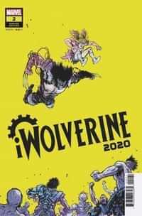 2020 Iwolverine #2 Variant Johnson Var