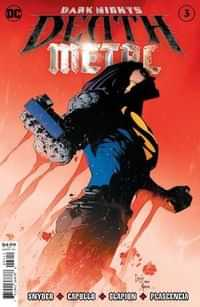 Dark Nights Death Metal #3 Second Printing