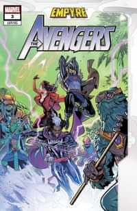 Empyre Avengers #3 Variant Medina Var