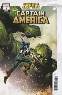 Empyre Captain America #3 Variant Guice Var