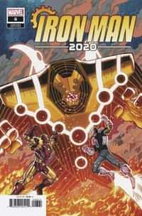 Iron Man 2020 #6 Variant Ron Lim