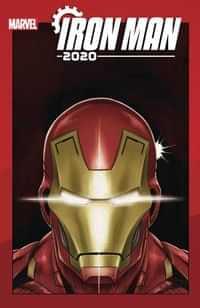 Iron Man 2020 #6 Variant Superlog Heads