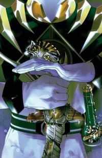 Mighty Morphin Power Rangers #53 CVR B Foil Montes Signed Jason Frank (Green Ranger)