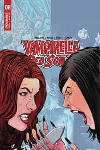 Vampirella Red Sonja #10 CVR E Moss