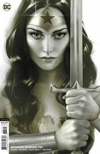 Wonder Woman #761 CVR B Joshua Middleton Card Stock Var