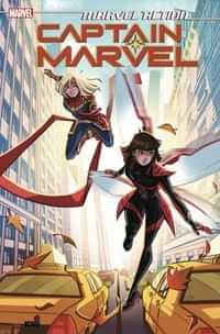 Marvel Action Captain Marvel TP Aim Small