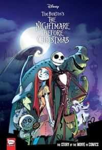 Disney Nightmare Before Christmas HC Movie In Comics