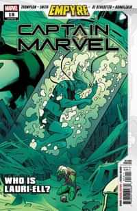 Captain Marvel #18 Second Printing Smith