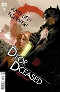 Dceased Dead Planet #3 CVR C Card Stock Yasmine Putri Movie Homage