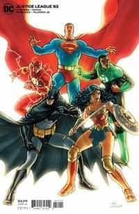 Justice League #52 CVR B Derington Var