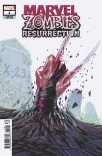 Marvel Zombies Resurrection #1 Variant Hans Var
