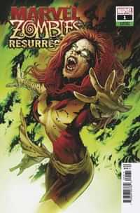 Marvel Zombies Resurrection #1 Variant Land Var