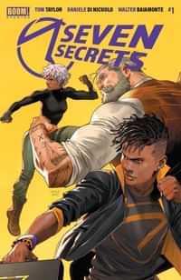 Seven Secrets #1 Second Printing
