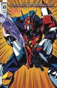 Transformers 84 Secrets and Lies #3 CVR A Guidi
