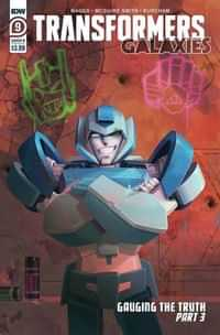 Transformers Galaxies #9 CVR B Pitre-durocher