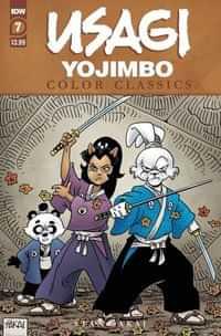 Usagi Yojimbo Color Classics #7