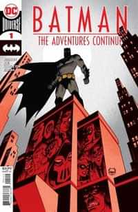 Batman The Adventures Continue #1 Second Printing Johnson Recolored