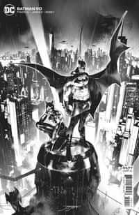 Batman #90 Third Printing Jorge Jimenez BW