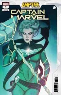 Captain Marvel #21 Variant Frison Empyre