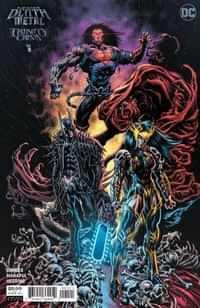 Dark Nights Death Metal One-Shot Trinity Crisis Variant 25 Copy Hotz