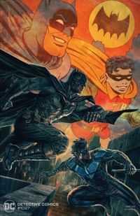 Detective Comics #1027 CVR B Lee Bermejo Batman Nightwing