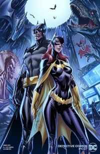 Detective Comics #1027 CVR C J Scott Campbell Batman Batgirl