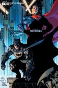 Detective Comics #1027 CVR E Jim Lee Batman Superman