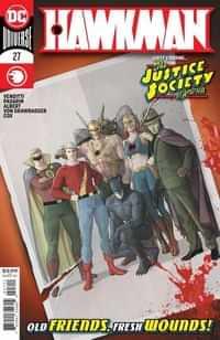 Hawkman #27 CVR A Mikel Janin