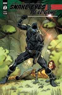 Snake Eyes Deadgame #2 CVR A