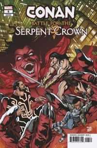Conan Battle For Serpent Crown #5 Variant Mckone
