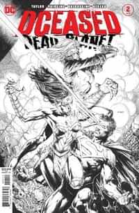 Dceased Dead Planet #2 Second Printing David Finch BW