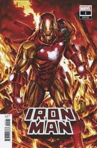 Iron Man #1 Variant 50 Copy Brooks