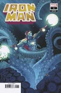 Iron Man #1 Variant Silva Launch