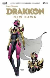 Power Rangers Drakkon New Dawn #1 Second Printing