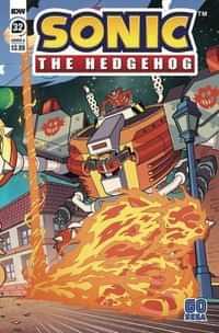Sonic The Hedgehog #32 CVR A Yardley