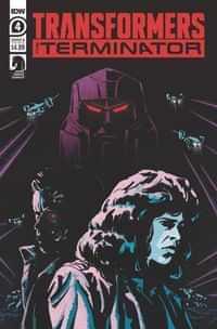 Transformers Vs Terminator #4 CVR A Fullerton