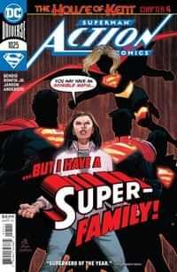 Action Comics #1025 CVR A John Romita Jr