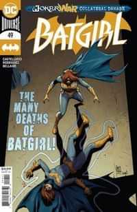 Batgirl #49 CVR A Giuseppe Camuncoli