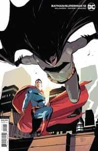 Batman Superman #12 CVR B Lee Weeks