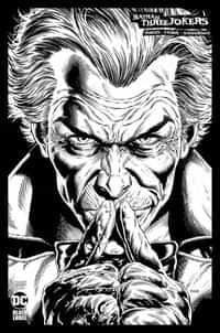 Batman Three Jokers #2 Variant 100 Copy Jason Fabok BW
