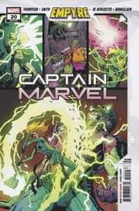 Captain Marvel #20 Second Printing