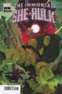 Immortal She-hulk #1 Variant Di Meo Empyre