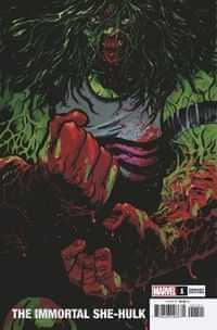 Immortal She-hulk #1 Variant Johnson