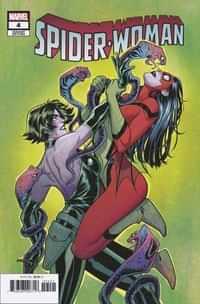 Spider-Woman #4 Variant Torque Villain