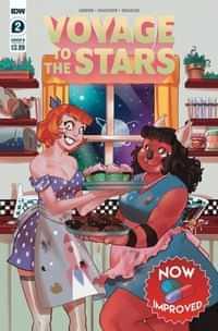 Voyage To The Stars #2 CVR B Daidone