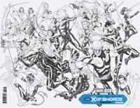 X Of Swords Creation #1 Variant 100 Copy Brooks Wraparound Inks