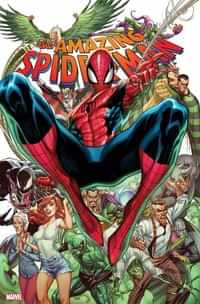 Amazing Spider-Man #49 Variant JS Campbell