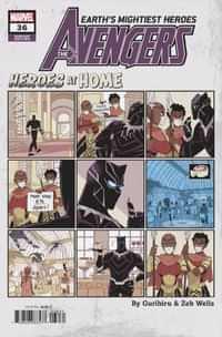 Avengers #36 Variant Gurihiru Heroes At Home Var