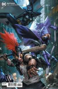 Batman The Joker War Zone One-Shot CVR B Cardstock Derrick Chew