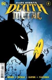 Dark Nights Death Metal #4 CVR A Greg Capullo Embossed Foil